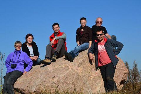 Pracownicy Zakładu Geologii i Ochrony Litosfery