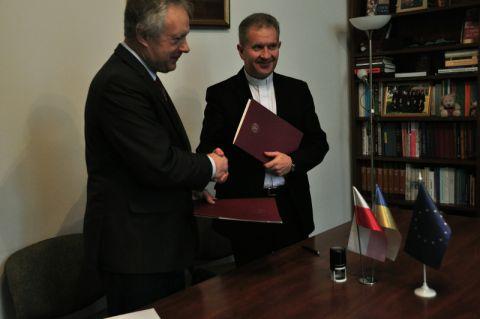 UMCS we Lwowie - podpisanie umowy partnerskiej