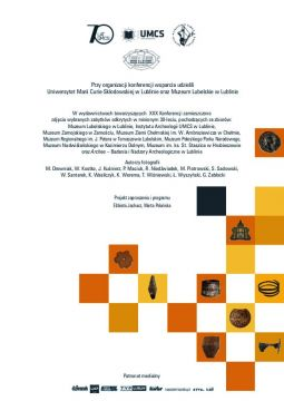 XXX Konferencja Sprawozdawcza - Organizatorzy