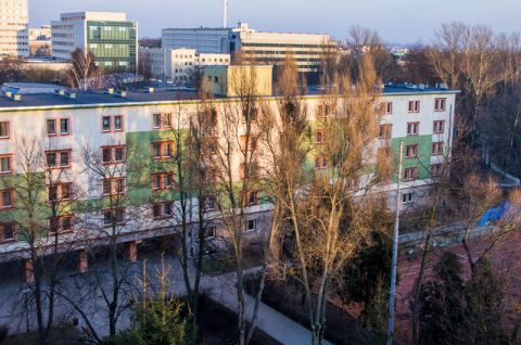 Zdjęcie miasteczka akademickiego UMCS