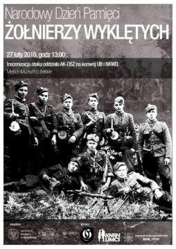 plakat informaujący o inscenizacji w Narodowy Dzień Żółnierzy Wyklętych.jpg