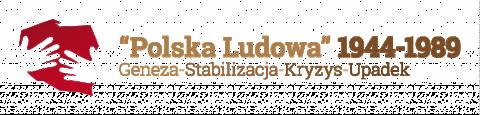 Baner konferencji Polska Ludowa 1944-1989_UMCS maj 2016