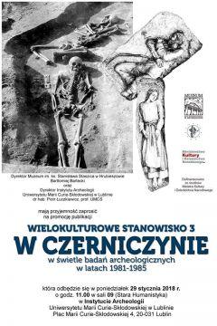 Promocja książki o badaniach archeologicznych w Czerniczynie