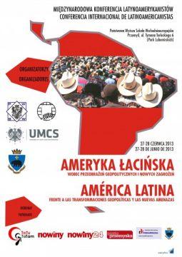 I Międzynarodowa Konferencja Latynoamerykanistyczna - plakat