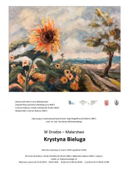 """Wystawa Krystyny Bielugi """"W drodze"""""""