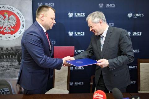 UMCS rozpoczął współpracę ze Służbą Kontrwywiadu Wojskowego