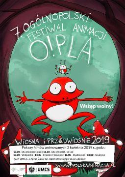 7. Ogólnopolski Festiwal Animacji O!PLA