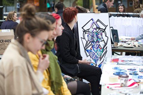 Przystanek sztuka - targi studenckie