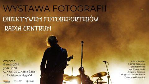 """Wystawa fotografii """"Obiektywem fotoreporterów Radia..."""