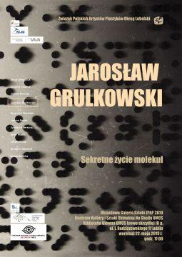 """Jarosław Grulkowski """"Sekretne życie molekuł"""" (wystawa)"""