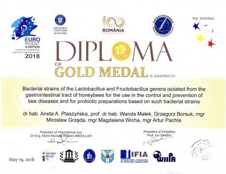 2018 dyplom zloto Rumunia Jasz3672.jpg