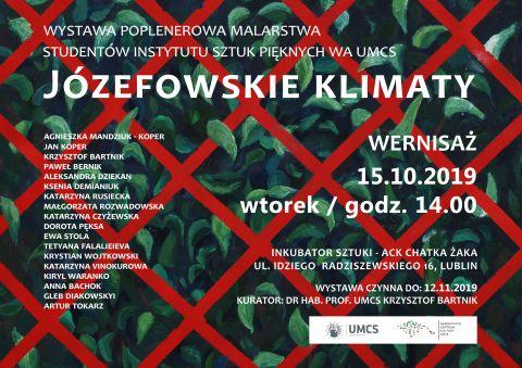 """Wystawa """"Józefowskie klimaty"""""""