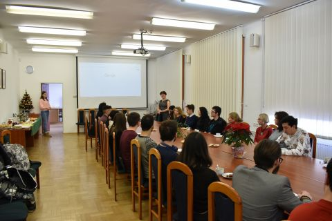 Spotkanie świąteczne studentów cudzoziemców