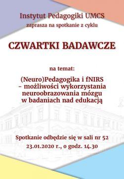 Czwartki badawcze cz.II