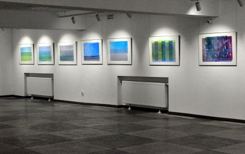 Exhibition of paintings by Krzysztof Bartnik...