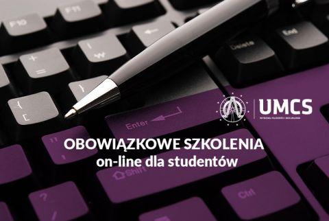 Studenci I lat - obowiązkowe szkolenia w roku akademickim...