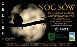 Noc Sów 2021 na UMCS - zaproszenie
