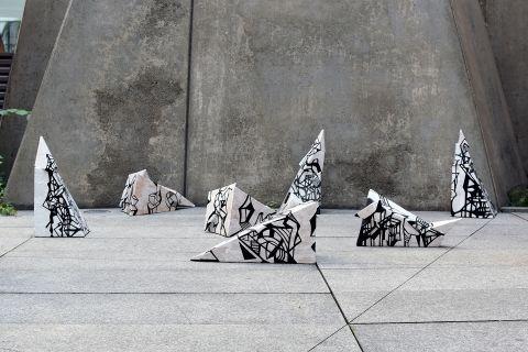 "The exhibition ""Wybrane dyplomy 2021""   Photo..."
