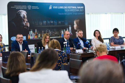 Konferencja prasowa - XVII Lubelski Festiwal Nauki