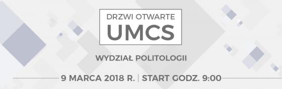 Baner przekierowujący na stronę Drzwi Otwartych UMCS