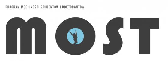 Logo MOST przenoszące po kliknięciu na stronę programu