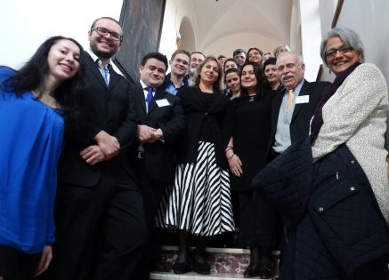 Uczestnicy konferencji współorganizowanej przez Koło
