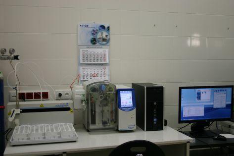 Total nitrogen analyzer 1030 Aurora TOC OI Analytical