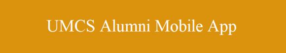 UMCS Alumni Mobile App