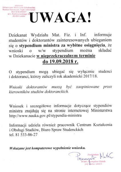Stypendium ministra dla studentów i doktorantów.jpg