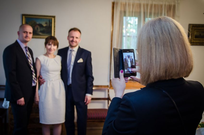 Ślub w Ogrodzie Botanicznym