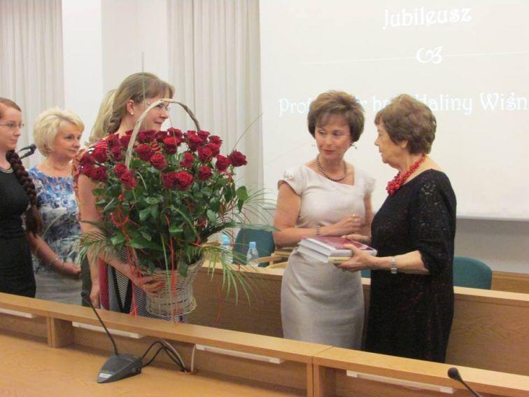 Relacja z jubileuszu prof. Haliny Wiśniewskiej