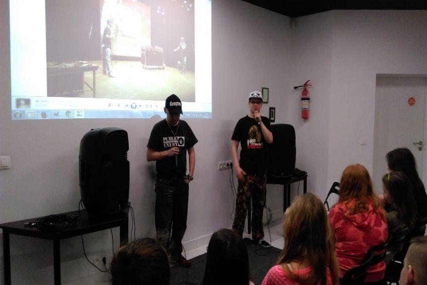 """Beatbox'owej lekcji historii w DDK """"Czuby..."""