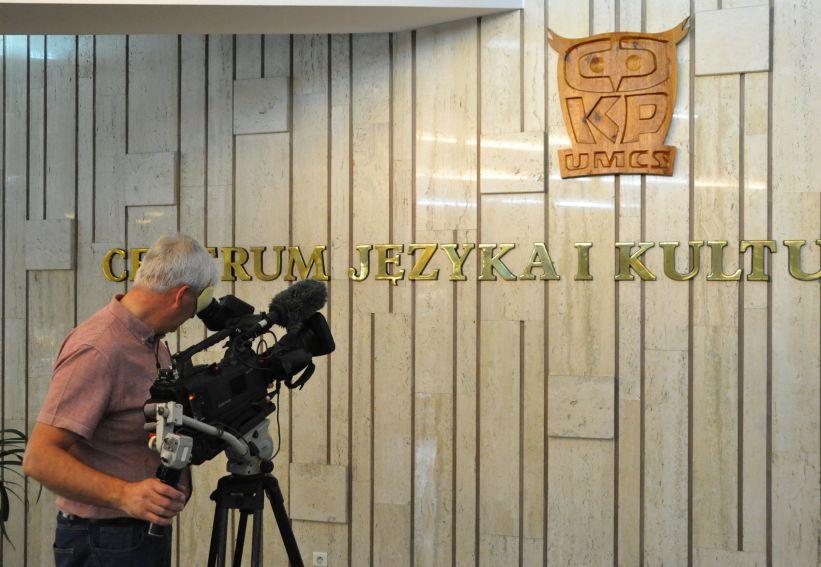 Wizyta BBC W CJKP UMCS