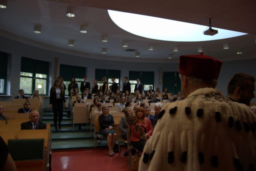 Immatrykulacja Studentów I roku, rok ak. 2017/18
