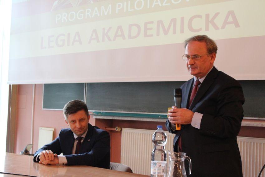 Wizyta Michała Dworczyka - wiceministra MON