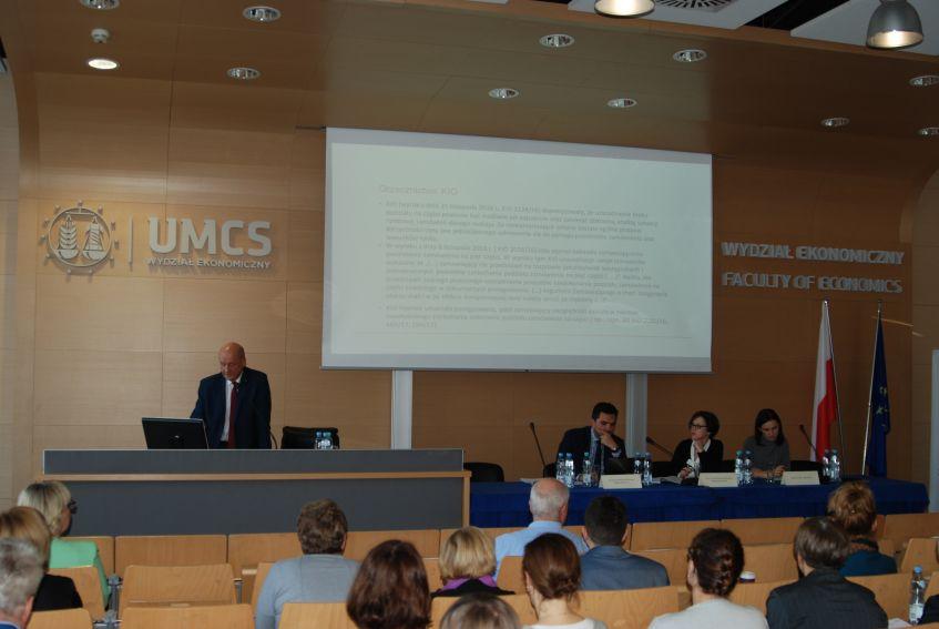 Konferencja UZP i UMCS