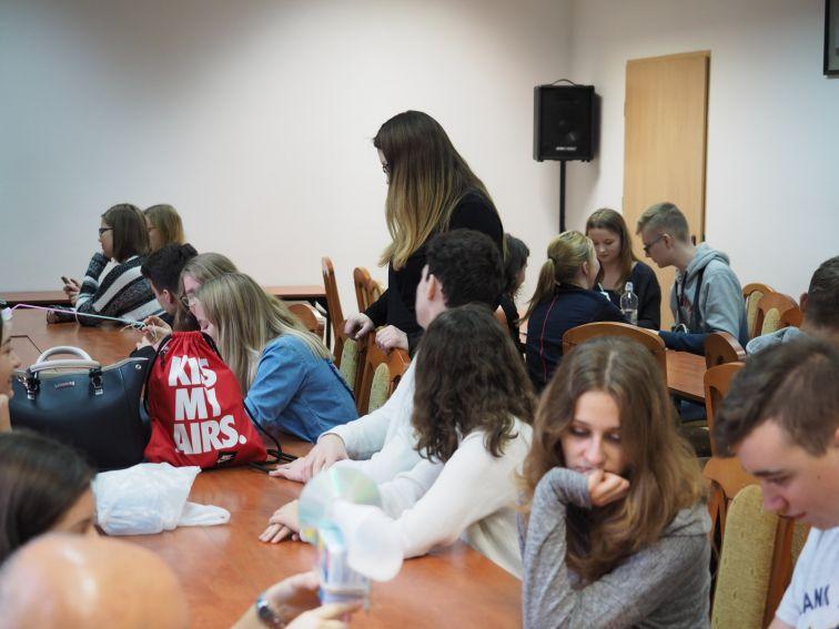 Obudź swą kreatywność - warsztat dla uczniów z II LO w...