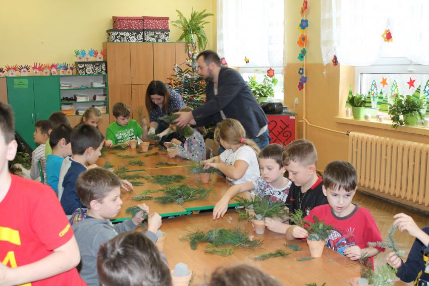 Warsztaty Świąteczne w szkole patronackiej