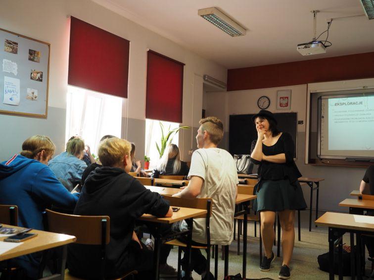 Warsztat z kreatywności w szkole LIDER