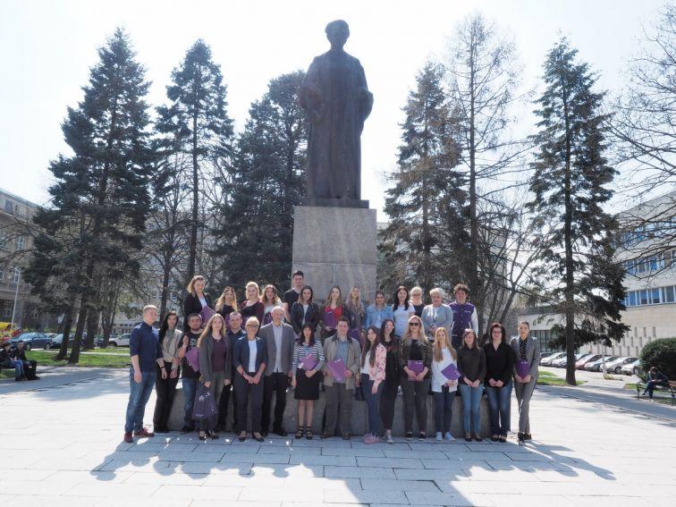 Spotkanie Władz WFiS ze Studentami