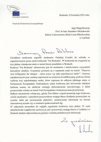 List rektor Michałowski 2.jpg
