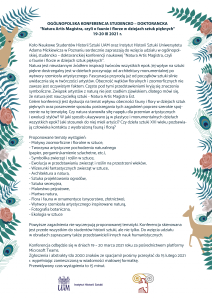 Call for Papers - Natura Artis Magistra.png